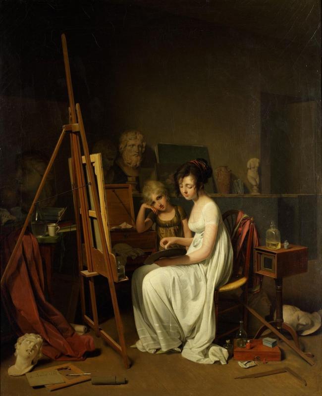 Мастерская художницы