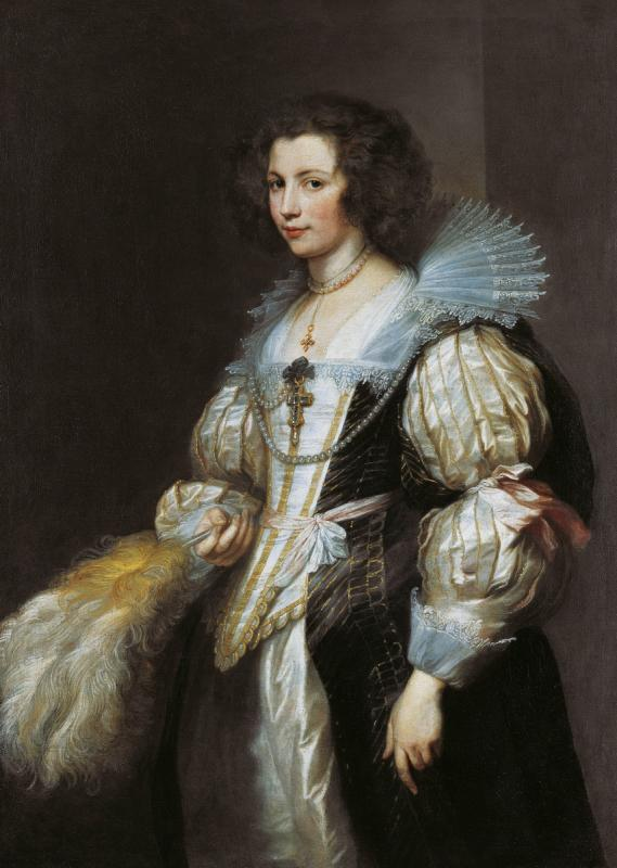 Антонис ван Дейк. Портрет Марии де Тассис. Ок. 1629