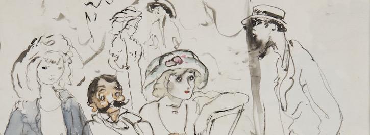 живопись жюля паскина и леонара фужиты