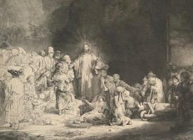 Рембрандт, Ливенс, Бол. Офорты из собрания ГМИИ им. А.С. Пушкина
